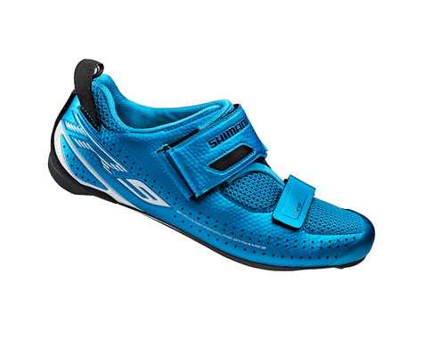 Shimano SH-TR9 Triathlon Shoes (Blue) (50)