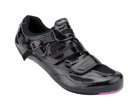 Shimano Women's WR62 Carbon Road Shoes (Black)