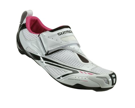 Shimano Women's SH-WT60 Triathlon Shoes (White)