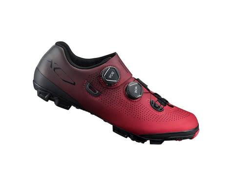 Shimano SH-XC701 Mountain Bike Shoes (Red) (45)