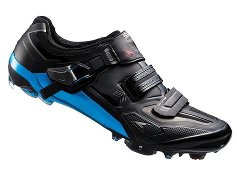 Shimano SH-XC90 XC Racing Custom Fit MTB Shoes (Black/Blue)