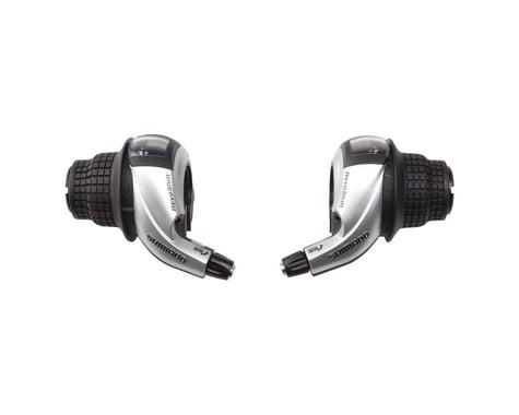 Shimano Tourney SL-RS45 3x8-Speed Twist Shifter Set