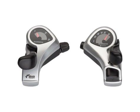Shimano Tourney SL-TX50 Thumb Shifter Set (Silver)