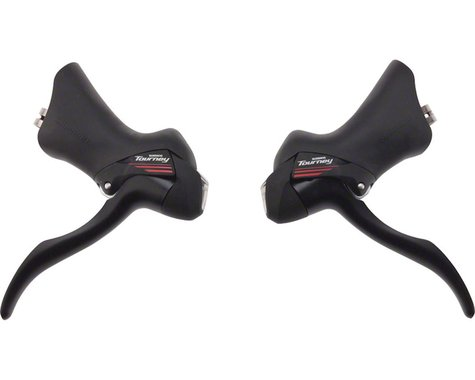 Shimano Tourney ST-A073 STI Shift Lever Set (Black)