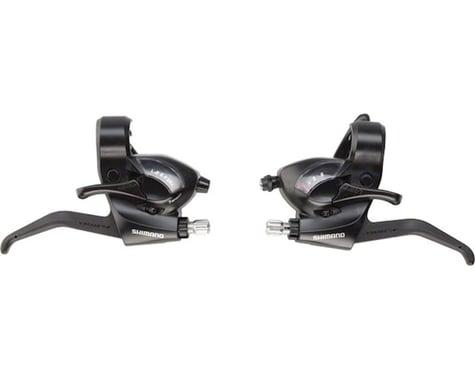 Shimano ST-EF41 3x7-Speed Brake/Shift Lever Set (Black)