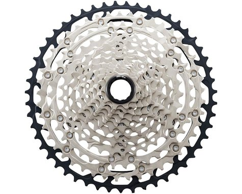 Shimano SLX CS-M7100 12-Speed Mirco-Spline Cassette (Silver/Black) (10-45T)