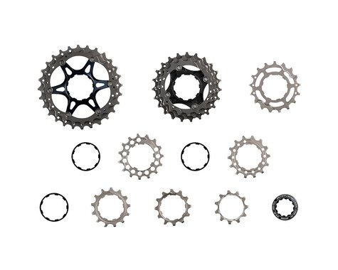 Shimano Dura-Ace CS-R9100 11 Speed Cassette (Silver/Grey) (12-28T)