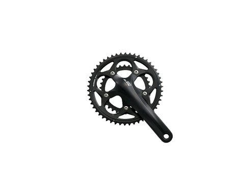 Shimano 105 5750 10-Speed Crankset (Black) (34/50T) (175mm)