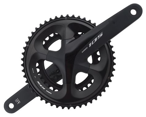 Shimano 105 FC-R7000 Crankset (Black) (2 x 11 Speed) (Hollowtech II) (172.5mm) (50/34T)