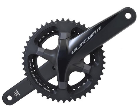 Shimano Ultegra FC-R8000 Crankset (Grey) (2 x 11 Speed) (Hollowtech II) (172.5mm) (46/36T)