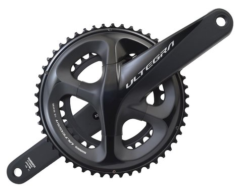 Shimano Ultegra FC-R8000 Crankset (Grey) (2 x 11 Speed) (Hollowtech II) (175mm) (50/34T)