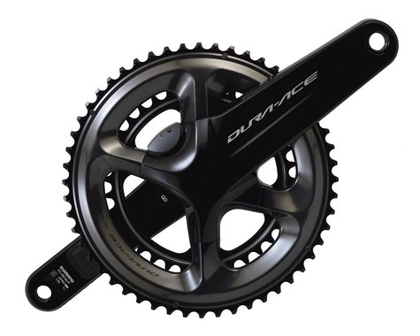 Shimano Dura-Ace R9100-P Power Meter Crankset (Black) (2 x 11 Speed) (170mm) (52/36T)