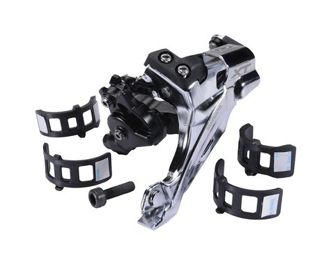 Shimano Xt M785 2X10-Speed Top-Swing Multi-Clamp Front Derailleur