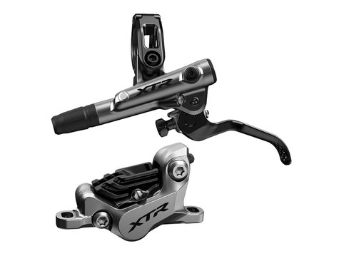 Shimano XTR M9120 Post Mount Hydraulic Disc Brake Set (Silver) (Left/Front)