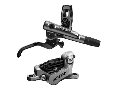 Shimano XTR M9120 Post Mount Hydraulic Disc Brake Set (Silver) (Right/Rear)