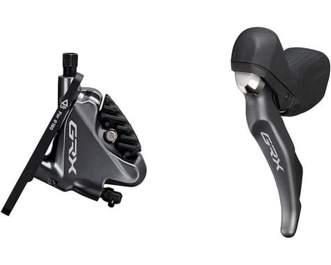 Shimano GRX ST-RX810 Disc Brake/Shift Lever Kit (Black)