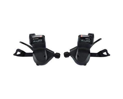 Shimano Tiagra SL-4703 Flat Bar Road Shifter Set (Black)
