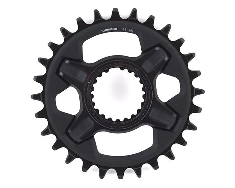 Shimano Deore XT SM-CRM85 1x Direct Mount Chainring (Black) (Boost) (3mm Offset (Boost)) (28T)