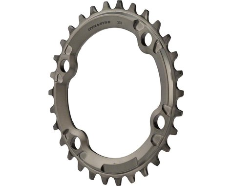 Shimano XTR M9000/M9020 1x Chainring (Grey) (96mm BCD) (30T)