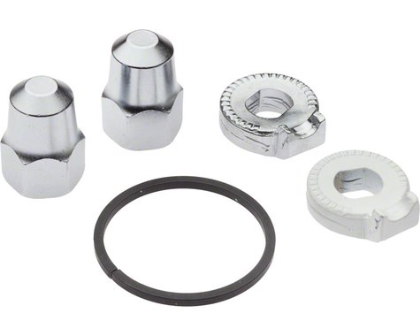 Shimano Alfine and Nexus, Rear Hub Nuts, Cog Snap Ring and Non-Turn Washers for