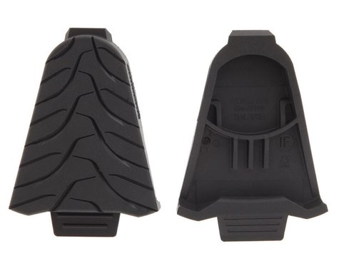 Shimano SM-SH45 SPD-SL Cleat Covers (Black) (2)