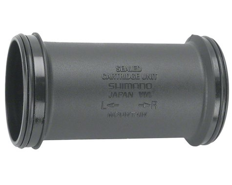Shimano Hollowtech II Mountain Bottom Bracket Inner Cover & O-Rings (Black)