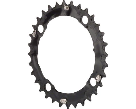 Shimano Deore M480-L 9-Speed Chainring (Black) (104mm BCD) (Offset N/A) (32T)