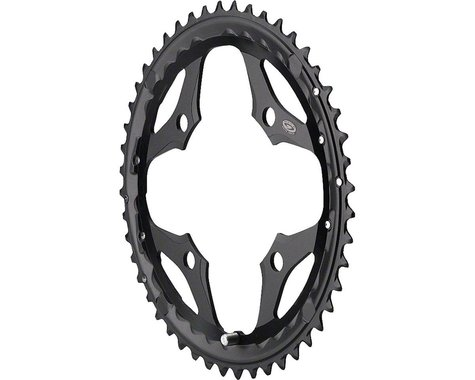 Shimano SLX M660 Outer Chainring (Black) (104mm BCD) (48T)