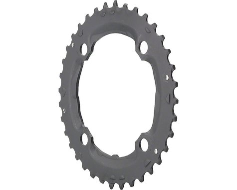 Shimano SLX M665 Middle Chainring (Black) (104mm BCD)