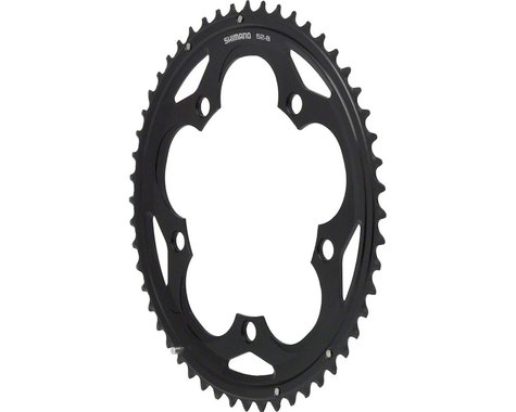Shimano 105 5700 Chainring (Black) (130mm BCD) (Offset N/A) (52T)