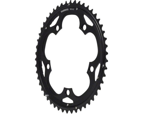 Shimano 105 5703-L Triple Outer Chainring (Black) (130mm BCD) (50T)