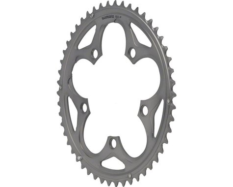 Shimano 105 5750-S Chainring (Silver) (110mm BCD) (Offset N/A) (50T)
