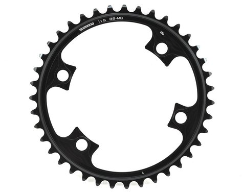 Shimano Dura-Ace FC-9000 11-Speed Inner Chainring (Black) (110mm BCD) (Offset N/A) (39T)