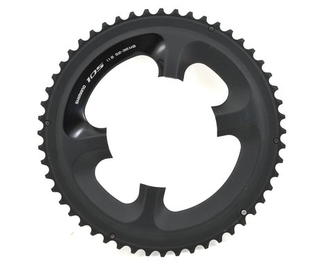 Shimano FC-5800L Chainring (Black) (110mm BCD) (52T)