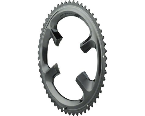 Shimano Dura-Ace R9100 Chainring (Black) (110mm BCD) (Offset N/A) (54T)