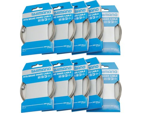 Shimano Brake Cable (1.6 x 2050mm) (10)
