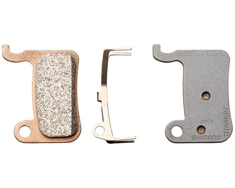 Shimano M06Ti Disc Brake Pads (XTR/Saint/SLX/LX/Road) (Metal)