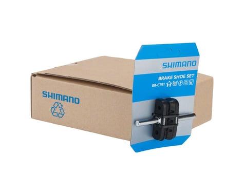 Shimano CT91 Cantilever Brake Pads (Black) (10 Pairs)