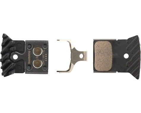 Shimano L04C Metal Disc Brake Pads w/ Fin Road Disc Calipers