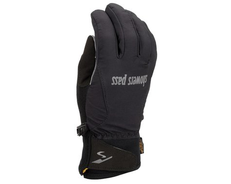 Showers Pass Women's Crosspoint Wind Gloves (Black)