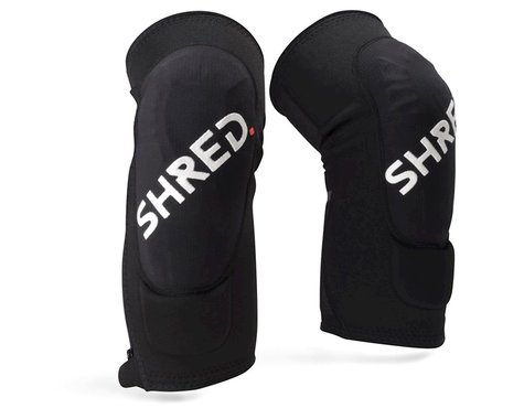 Shred Flexi Trail Zip Knee Pads (Black) (L)