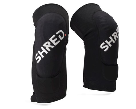 Shred Flexi Trail Zip Knee Pads (Black) (S)