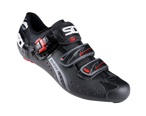 Sidi Genius Fit Carbon Road Shoes (Black)