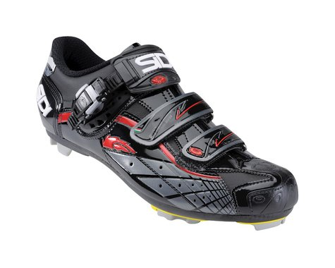 Sidi Spider SRS Carbon Technomicro MTB Shoes (Black)