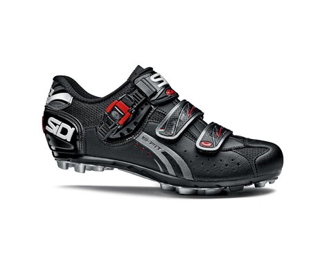 Sidi Dominator Fit Narrow MTB Shoes (Black)