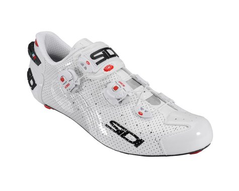 Sidi Wire Carbon Air Vernice Road Shoes (White)
