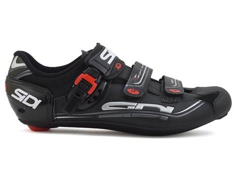 Sidi Genius 7 Carbon Road Bike Shoes (Black) (48)