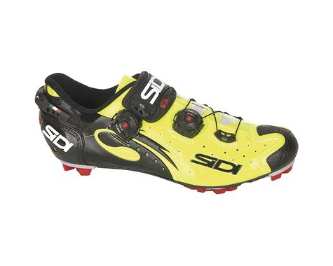 Sidi Drako Carbon SPD Clipless Shoes (Fluorescent Yellow/Black)