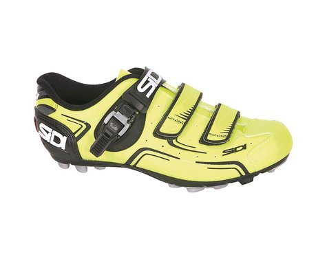 Sidi Buvel SPD Clipless Shoes (Fluorescent Yellow/Black) (46.5 Euro / 11.75 US)
