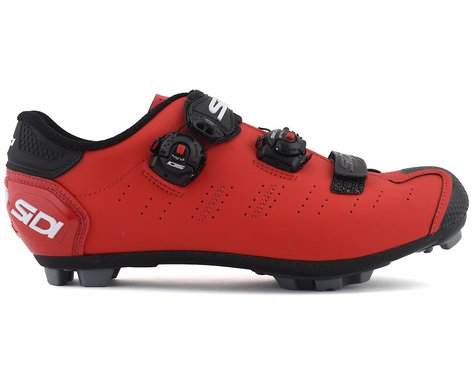 Sidi Dragon 5 Mountain Shoes (Matte Red/Black) (44.5)